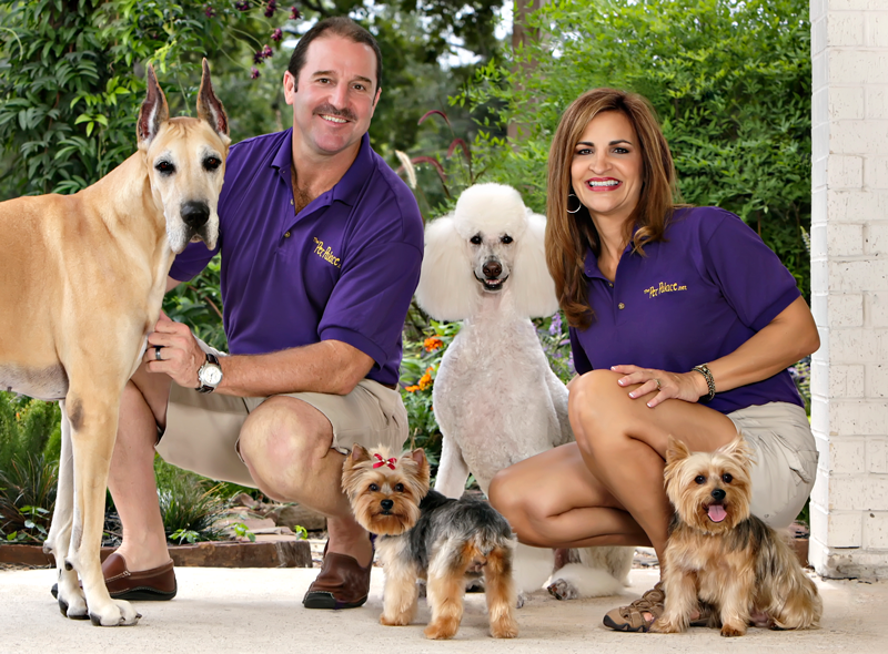 angela-and-darrell-with-dogs-outside
